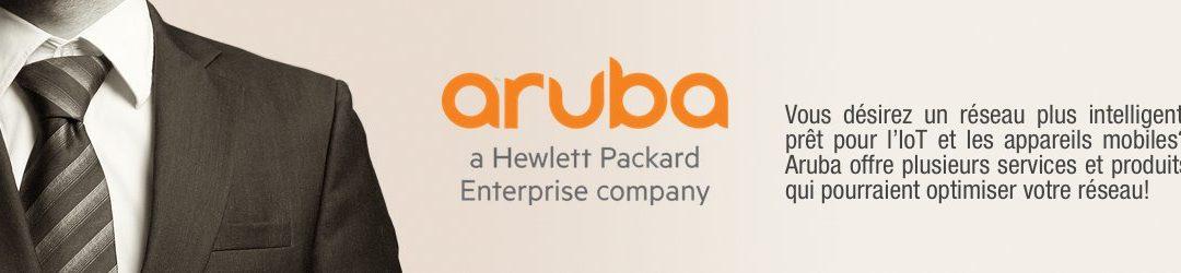 Un réseau à la hauteur de vos attentes avec Aruba | HP